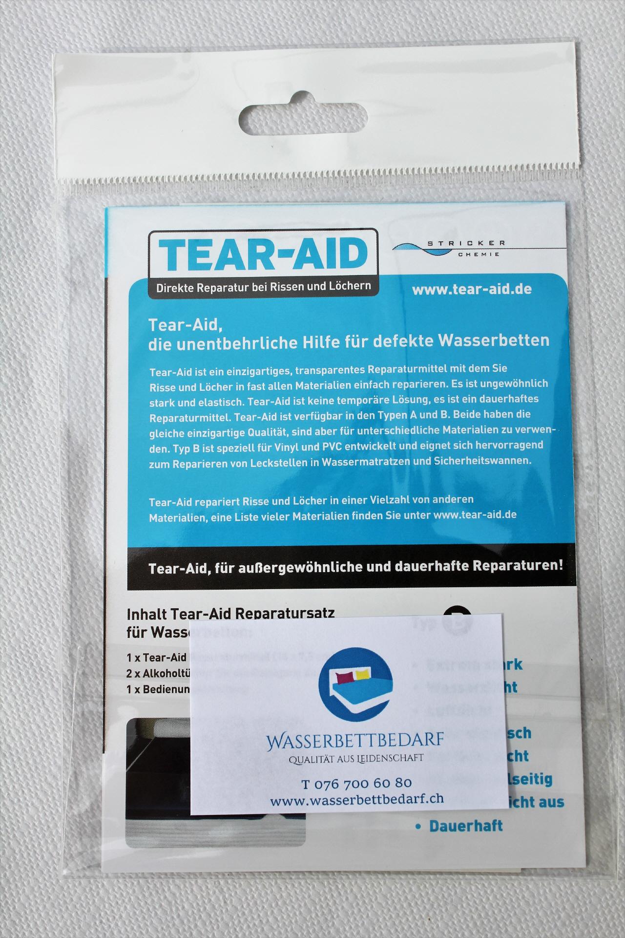Schön Wasserbettbedarf Dekoration Von Tear-aid Direkte Reparatur Bei Rissen/löcher
