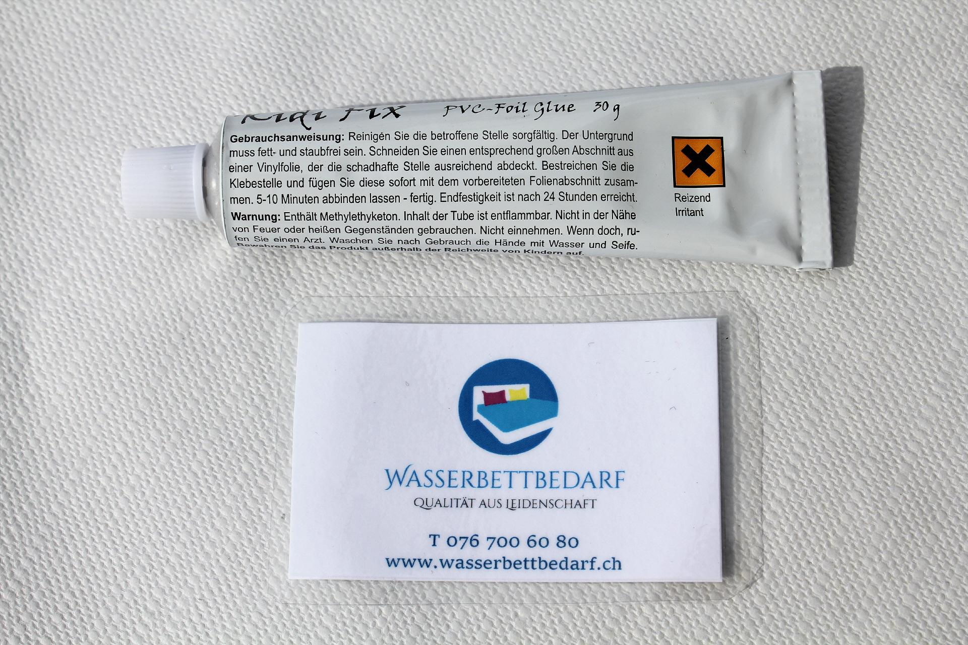Liebenswert Wasserbettbedarf Galerie Von Kidi Fix - Tube Für Herz Op