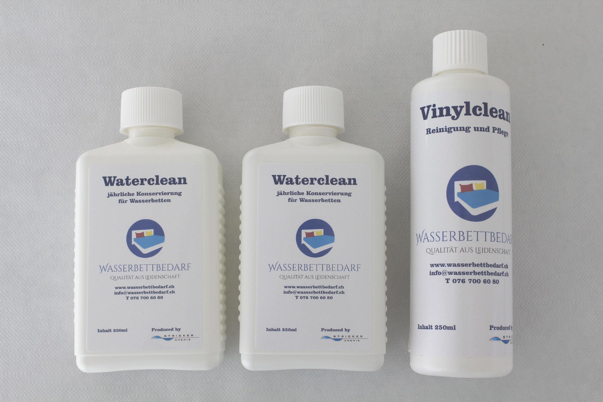 Cool Wasserbettbedarf Ideen Von 2 Waterclean + Vinylclean S